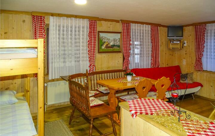 Beautiful apartment in Begunje na Gorenjskem with WiFi and 1 Bedrooms