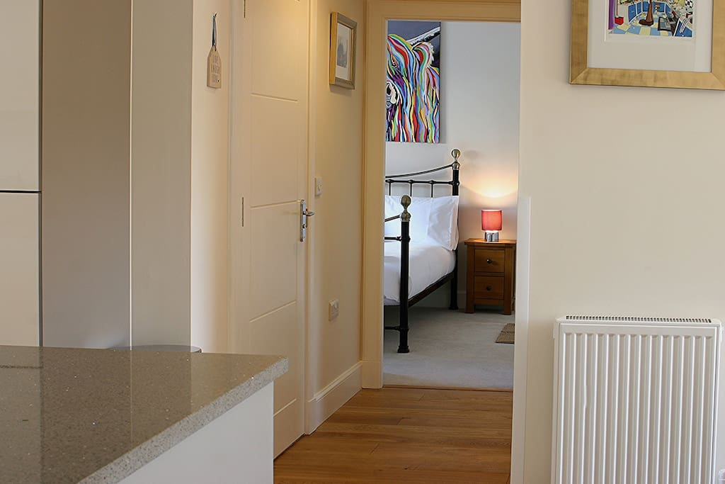 entrance hallway to the apartment