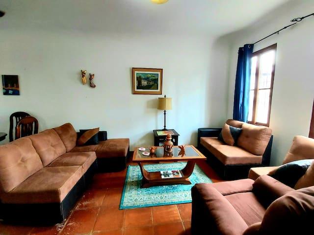 Living room. Sala.