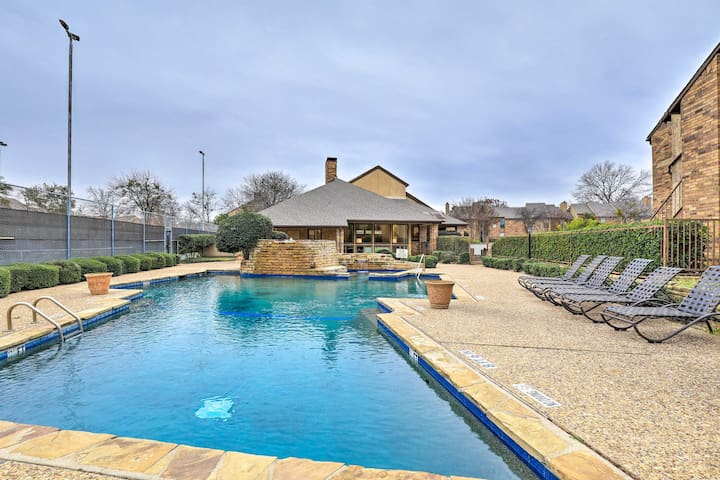 NEW! Arlington Condo Near Cowboys Stadium, Shops!