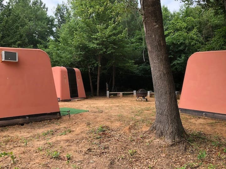 """Three Tipi Pods"""""