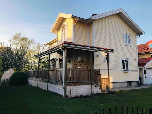 Perfect family house 10 min from Stockholm C