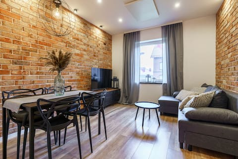 Loftowy apartament w sercu Śląska