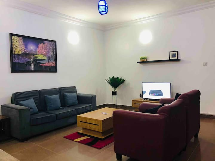 Posh 1 Bedroom apartment at Jabi + Ac,24/7 power