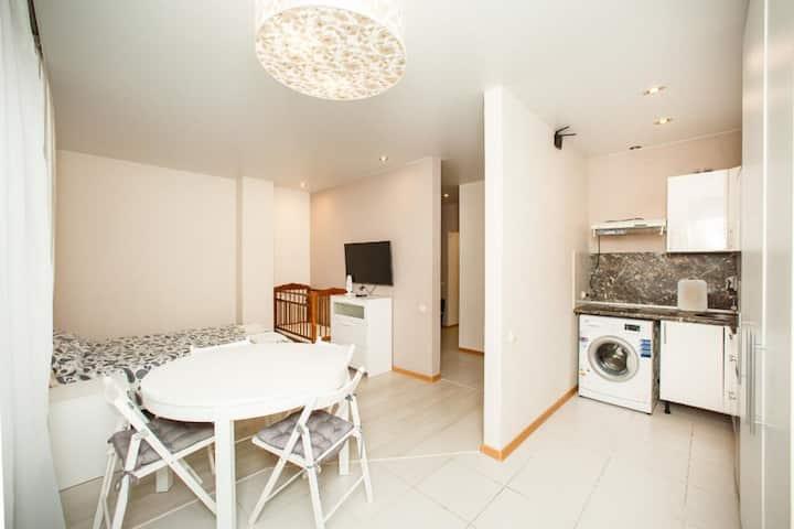 Уютная квартира 35 кв.м., рядом с парком Дендрарий