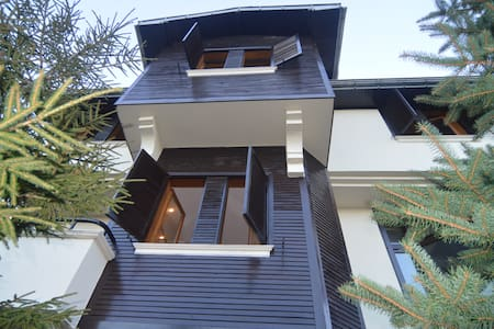 TRABZON SEA VIEW VILLA WITH GARDEN AND AIR CON