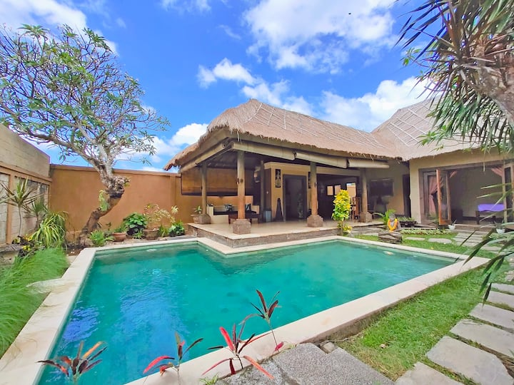Unique Tropical 2BR Villa With Big Private Pool
