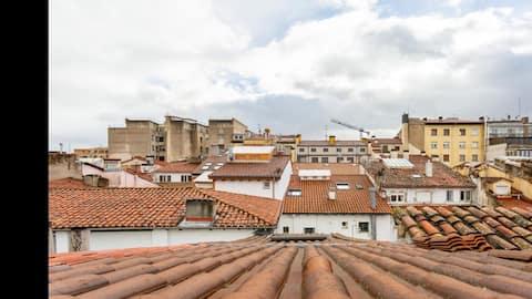 Escapate a #Pamplonacentro Áticodúplex #tranquilo