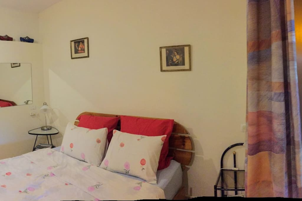 Room 1: Include 1 double bed, kitchenette, shower and toilet. usually used as parents room.