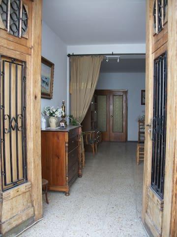 House in a Mediterranean village