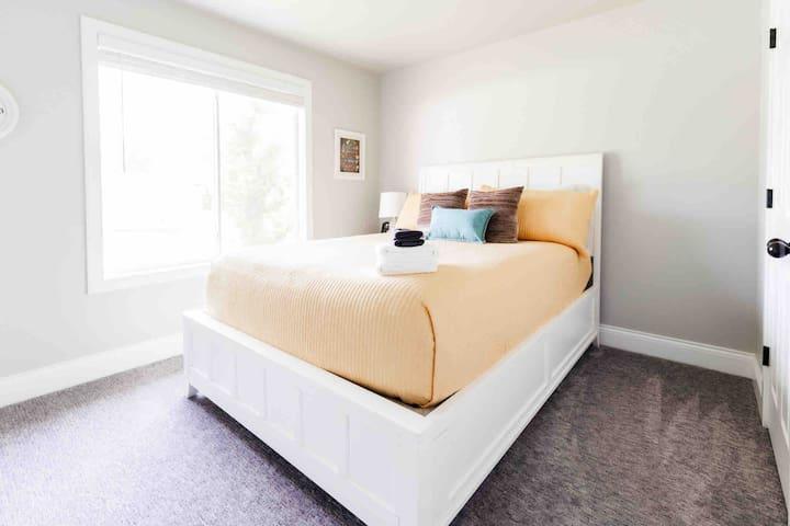 Bedroom--Upstairs with Queen Bed