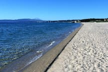 Gavriadia beach, just 30 meters from the house