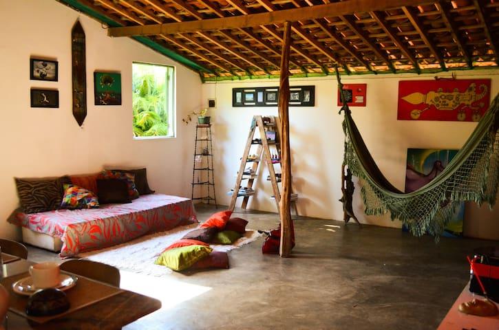 Hostel La Casita Nazaré - Quarto Compartilhado - Cabo de Santo Agostinho - Hus
