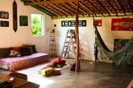 Hostel La Casita Nazaré - Quarto Compartilhado - Cabo de Santo Agostinho - 獨棟