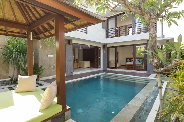 Bali Village Villa w/ rice paddies by Beach #V1 - North Kuta - Villa