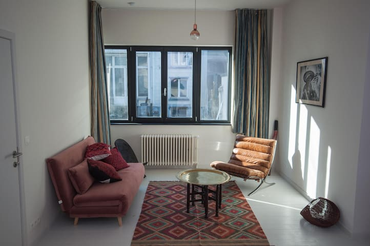 *Bright renovated flat in the heart of Ixelles*