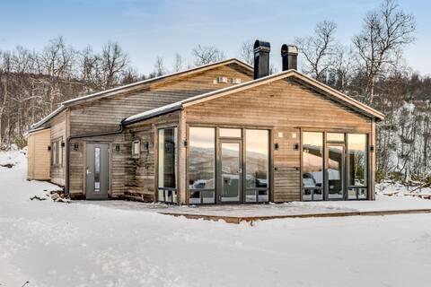 Eksklusiv indkvartering i Hemavan - ski in/ski out