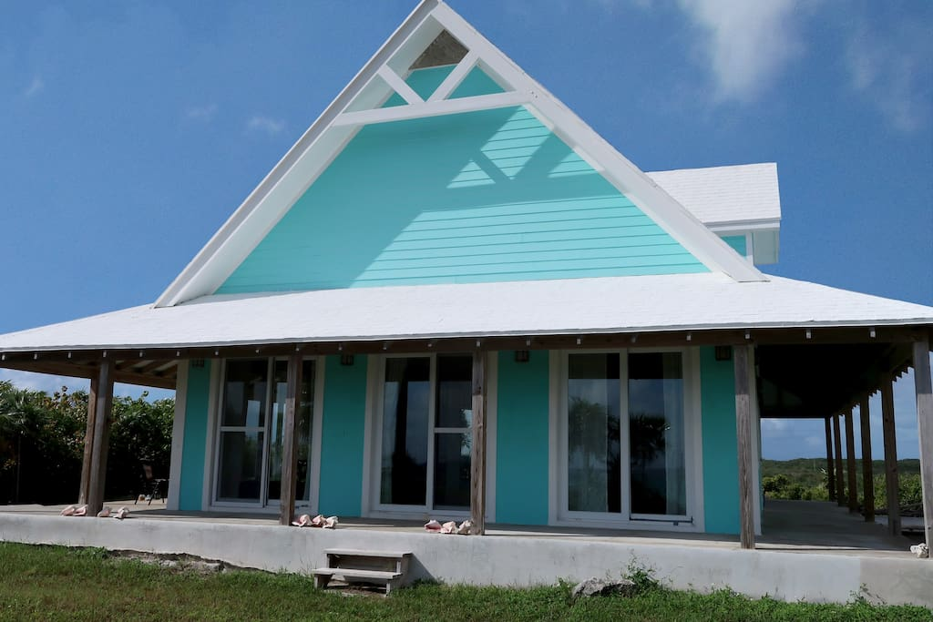The Turquoise house