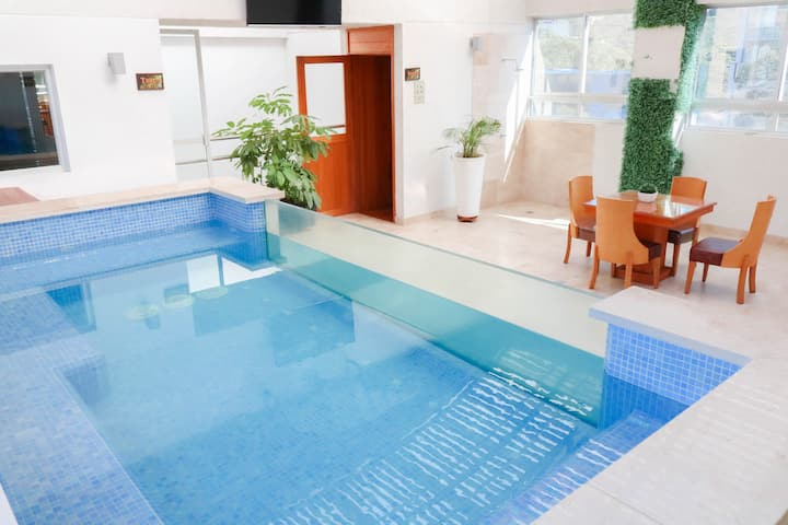 COMFORTABLE AND NICE ROOM WITH JACUZZI