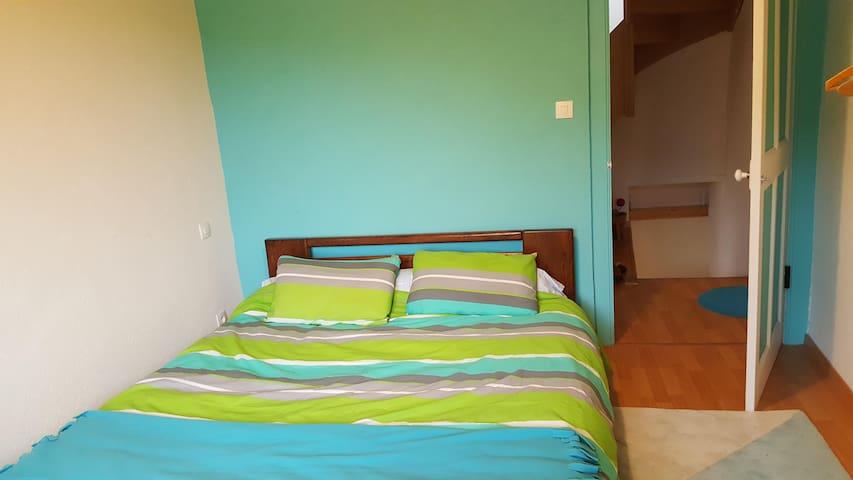 Chambre avec 1 lit double (160)
