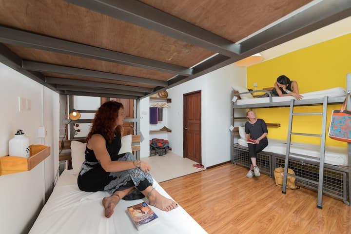 4 Bed female dorm