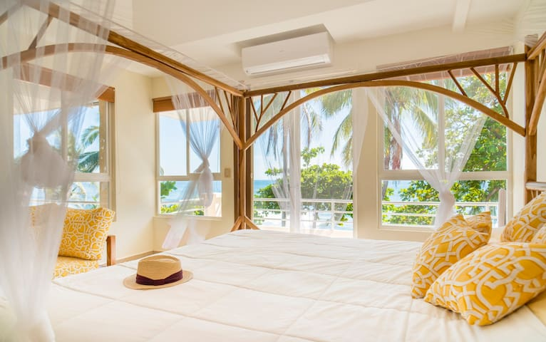 Wake up to the sound of the waves and the beauty of the ocean