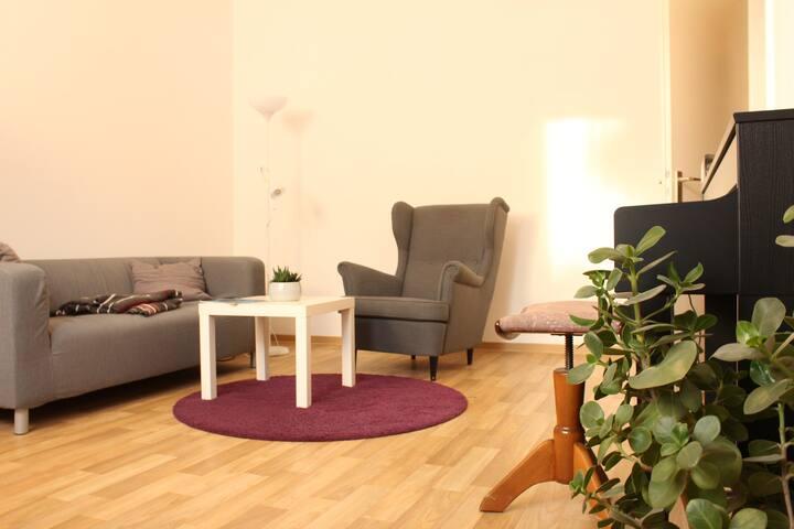 Bequeme Wohnung in 'Lautrer' Innenstadt