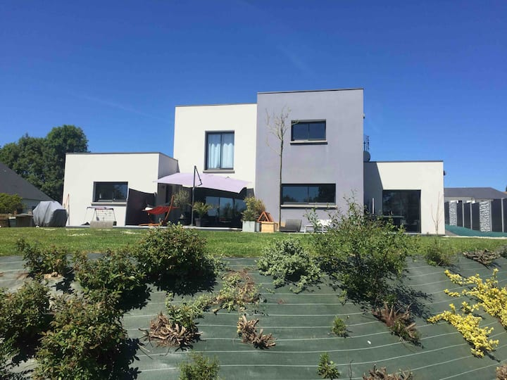 Maison contemporaine à 25 mn de la mer Normandie