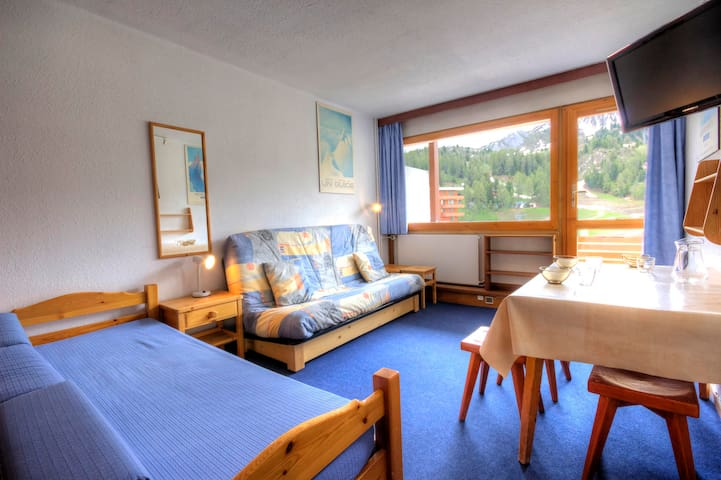 PLAC-ME63 - Studio with access to the mall and close to the pistes
