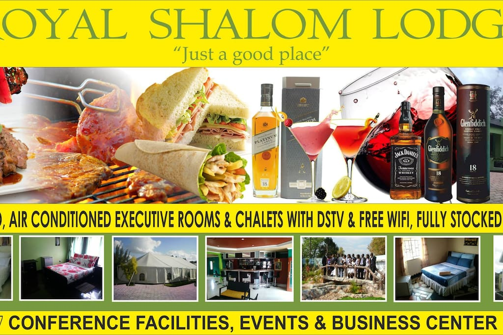 Royal Shalom's mouth watering food items and other facilities.