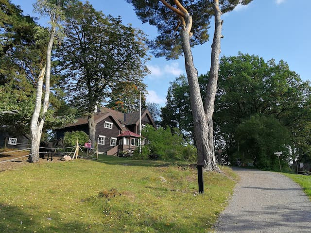 Villa in nordic romantic style nearby Stockholm