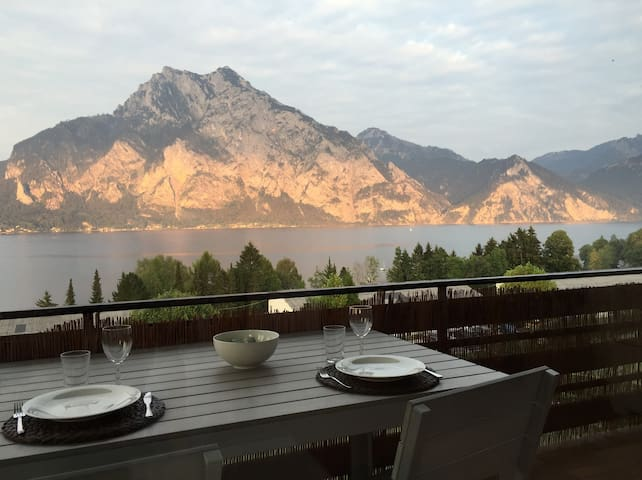 Apartment stunning view Traunsee - Altmünster - Apartment