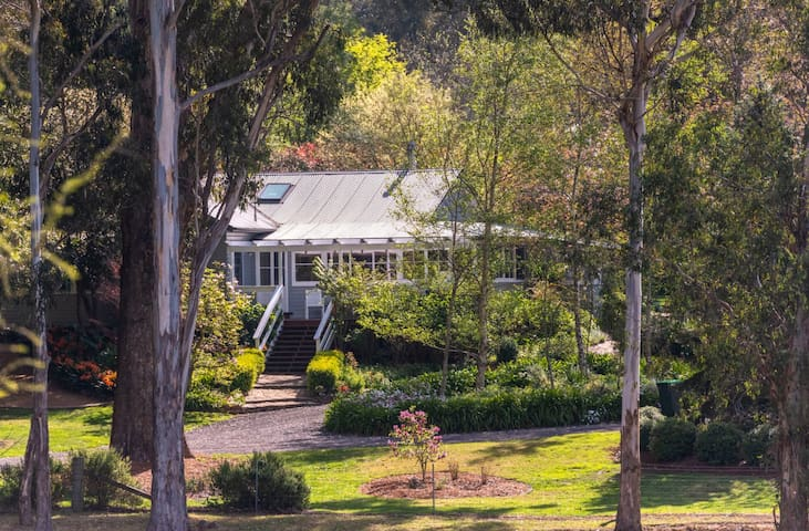 Historic Corinda Homestead amid magical gardens