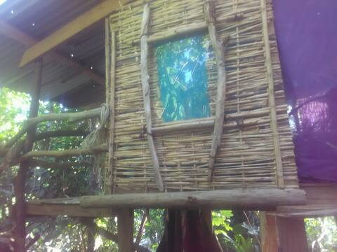 Basket treehut