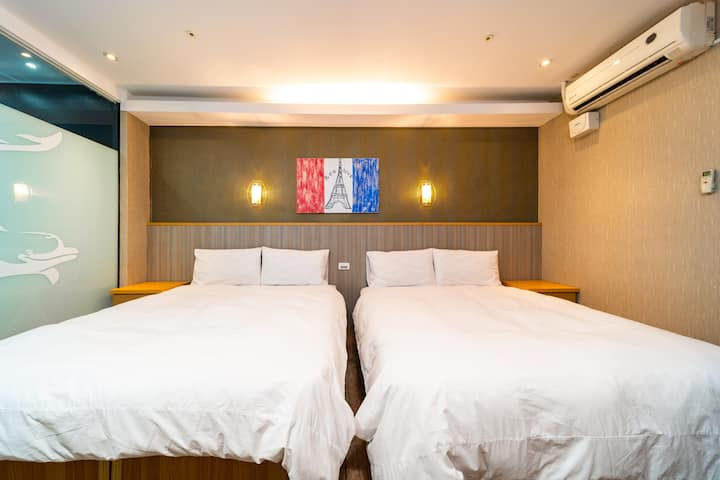 #T Kaohsiung HOT SPRING Suit/ near MRT/O2