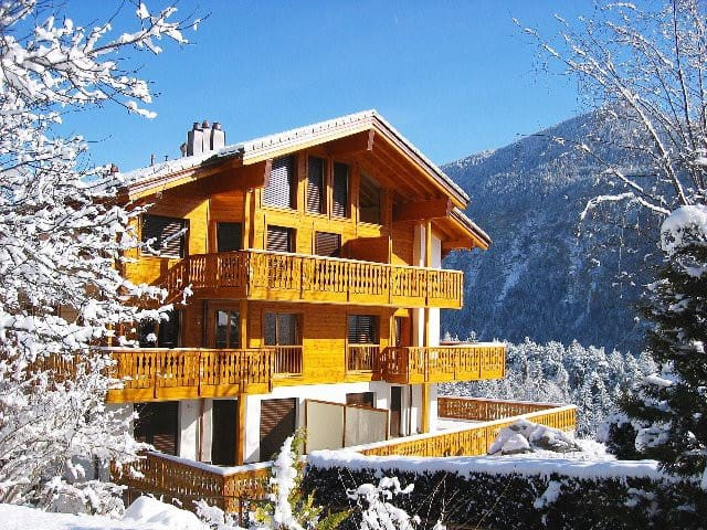 Chalet Bellmont - Luxurious & entire flat - Salvan - Byt