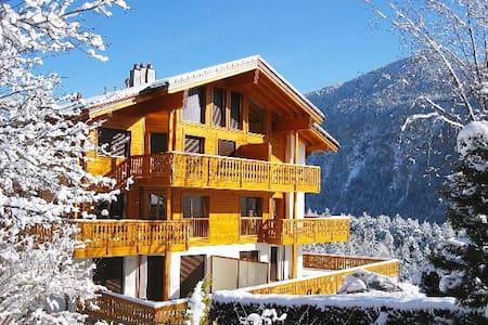 Chalet Bellmont - Luxurious & entire flat - Salvan - Lägenhet