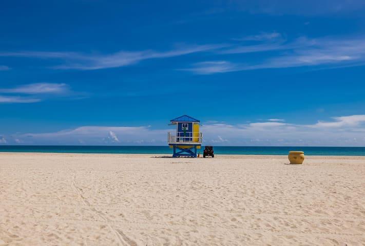 > NuevHotel Beach House Five Stars New Apt on the Beach
