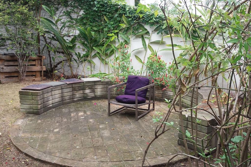 Guest private garden