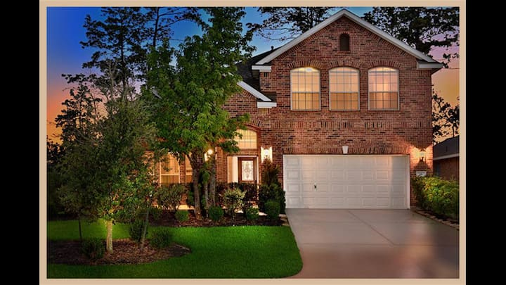 Location, location. Creekside, The Woodlands
