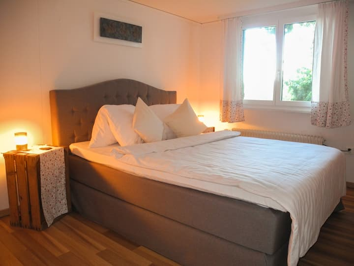 Double room #farm #Fribourg/Bern #wiFi #breakfast