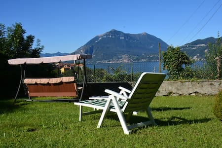 Casa Gibiseo with garden with stunning lake view - Bellano