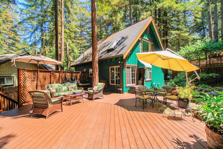 Fern Woods - A-Frame in the Woods! - Guerneville - Casa