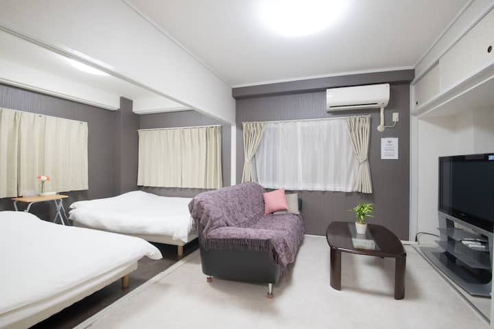 S-302 The cozy room for sightseeing and night out!