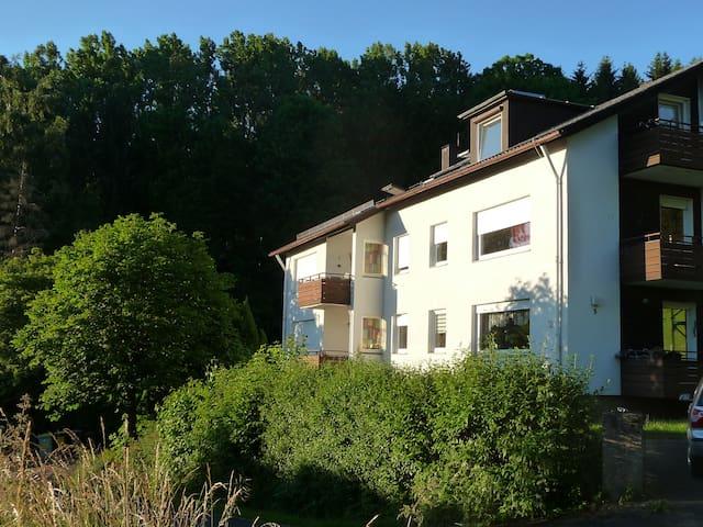 RHÖN BERGBLICK Ferienwohnung Tann - Tann (Rhön) - Квартира