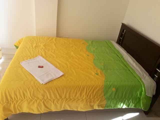 Amplia habitación para un excelente descanso
