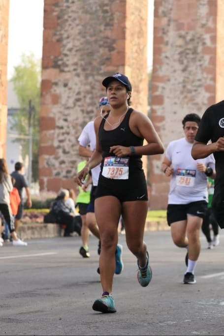 En la ruta del Querétaro Maratón