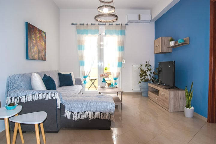 Ioanna's homey apartment, 5 guests, Spili/Rethymno