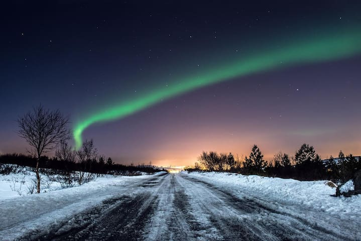 The Northern Lights seen by one of our guests :)