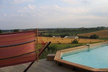 Maison avec piscine à la campagne à 15 min d'Albi. - Lombers - Dom